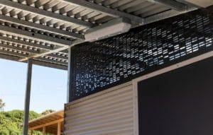 Port Campbell Toilet Building - Ventilation